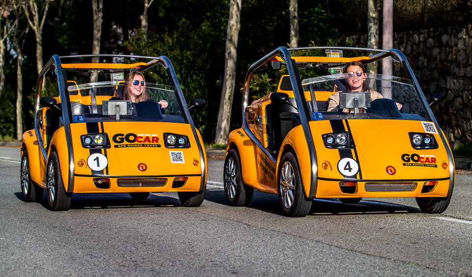 Electric GoCar Barcelona
