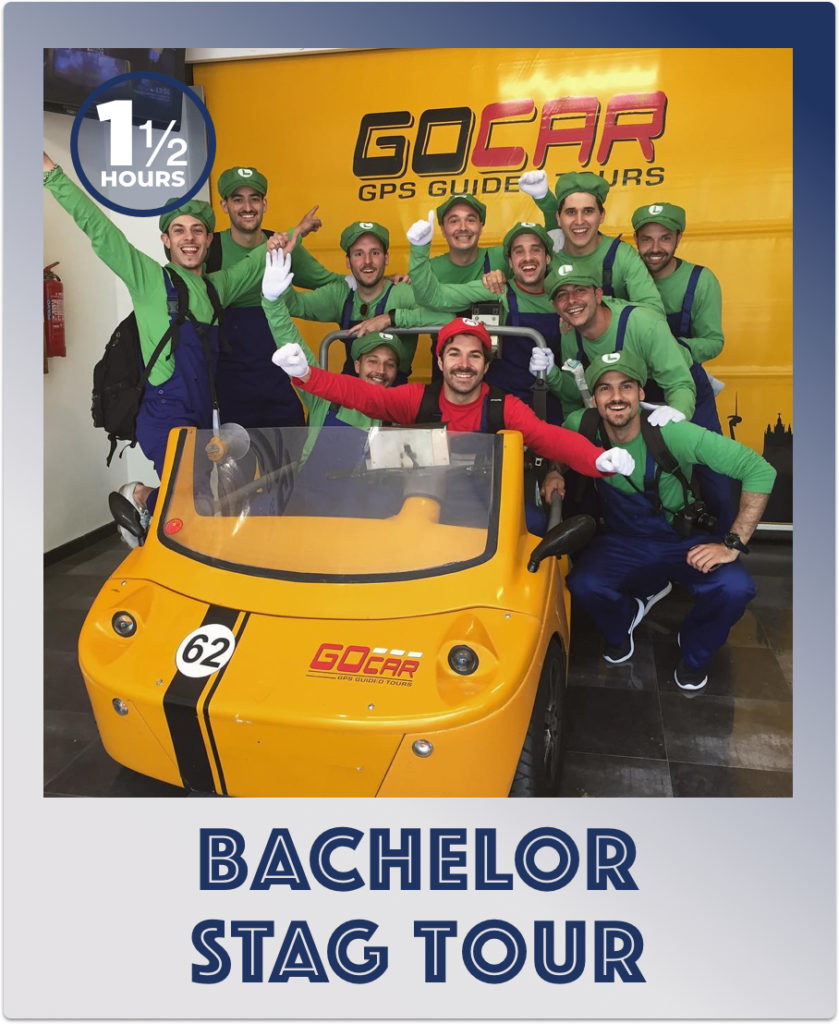 GoCar Barcelona Stag Bachelor Tour